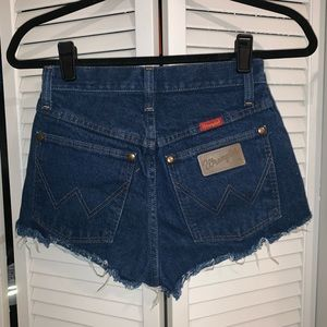 Wrangler Shorts - Vintage Wrangler Cutoffs